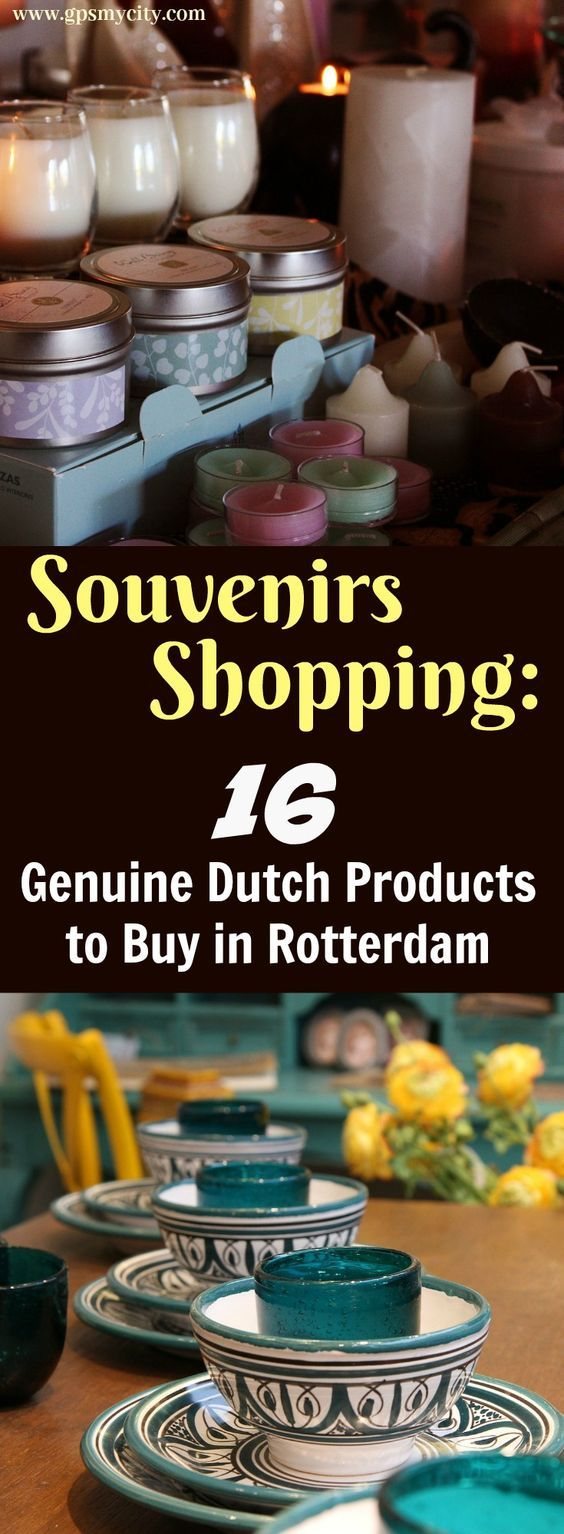 Thinking as to what to buy in Rotterdam? This Rotterdam shopping guide will help you answer the question with a list of traditional Dutch things worth buying in this lovely city!