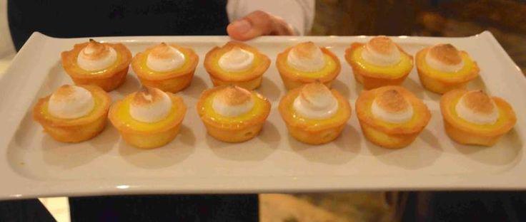 Mini Lemon Merique Tarts Aberdeen Tavern