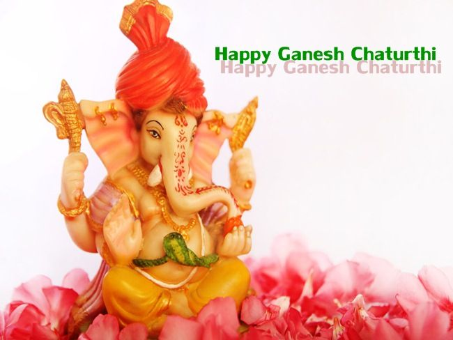 May Lord Ganesha gives you A rainbow for every storm; A smile for every tear; A promise for every care; And an answer to every prayer!  Happy Ganesh Chaturthi 2015
