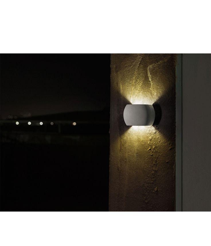 Castle Round Concrete Wall Light