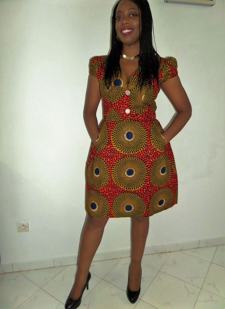 104 best model de robes pagnes images on Pinterest | African clothes, African fashion and ...