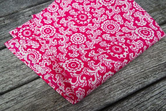Pink Prints Pocket Square  Pink Pocket Square  Pink by MayCheang