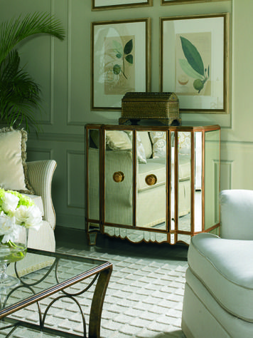 Mirrored Chest   Sherrill Occasional   CTH   Home Gallery Stores. 163 best Mirrored Furniture images on Pinterest