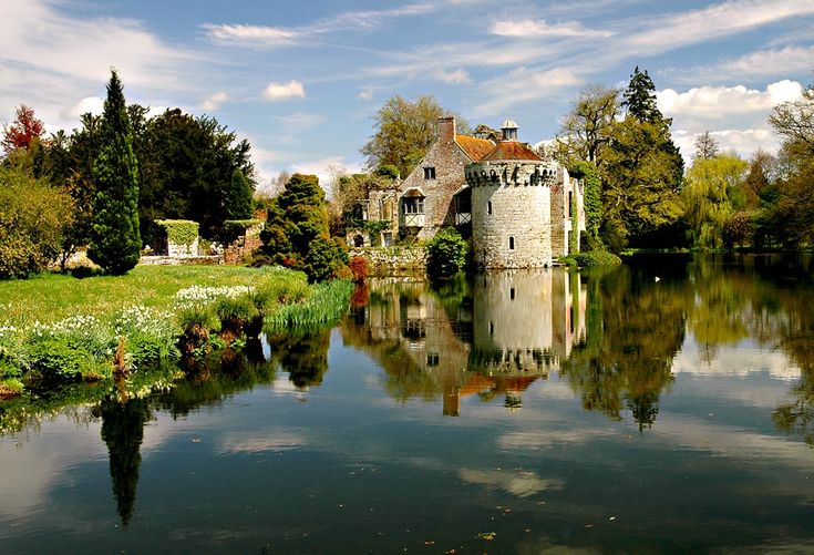"""""""Scotney Castle, near Lamberhurst in Kent"""" by Sarah Dawson at PicturesofEngland.com"""