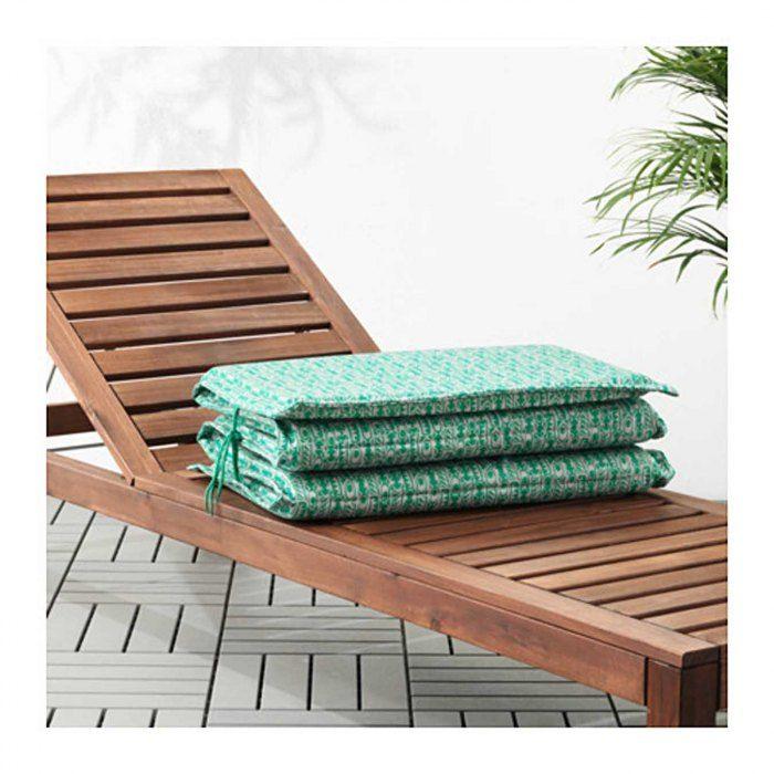 Shopping déco: 30 idées pour booster sa terrasse -  Matelas fin bain de soleil Ikea, 29 fr. 95.© DR