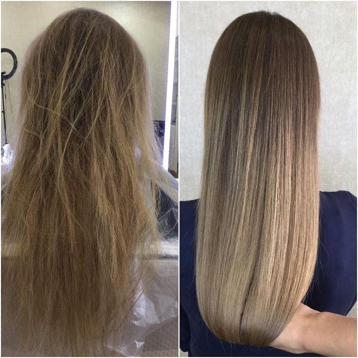Кератиновое выпрямление волос от Honma Tokyo  мастер Юлия  375 29 6670625