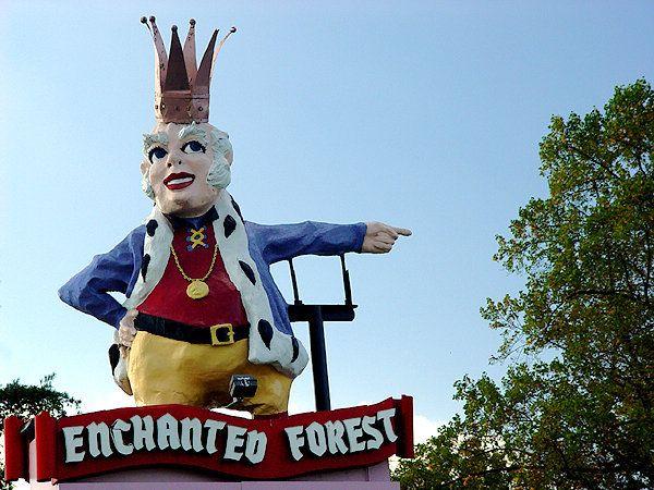 "Enchanted Forest, Ellicott City (Route 40), Maryland.  My Childhood ""dreamland""."