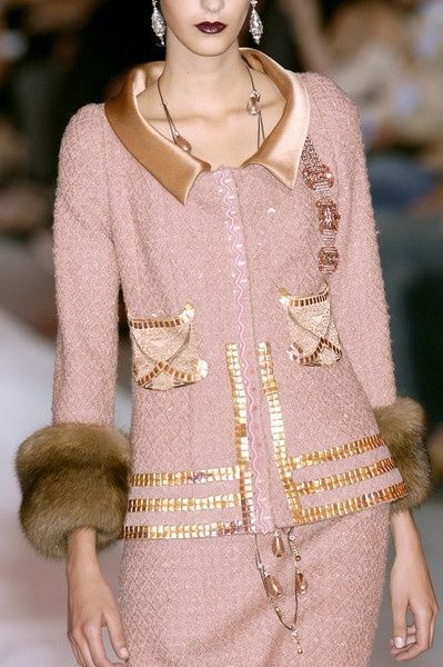 Chanel stunning in pink