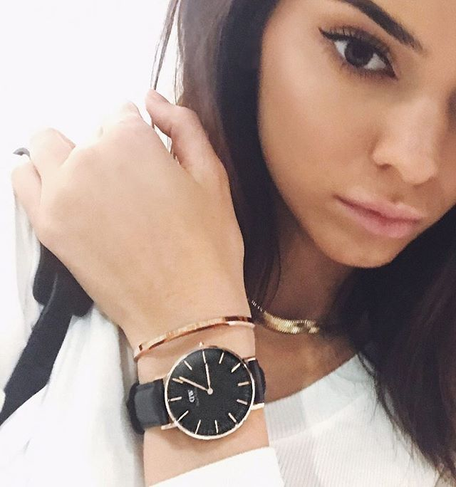 My @danielwellington watch and cuff, the perfect gifts!  Enter KENDALL for 15% off on Danielwellington.com #V #ad #DWPerfectmatch