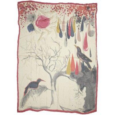 becksondergaard-wintertime-birds-silk-scarf   #EthicalJewellery #EllaGeorgia #EthicalFashion
