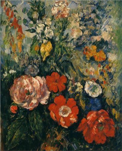 Bouquet of Flowers - Paul Cezanne