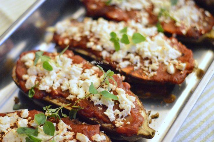 Aubergines met Feta uit de oven (op Turkse wijze) - HungryPeople