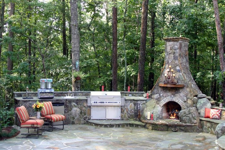 Pictures of Outdoor Fireplaces – Nikke Alley
