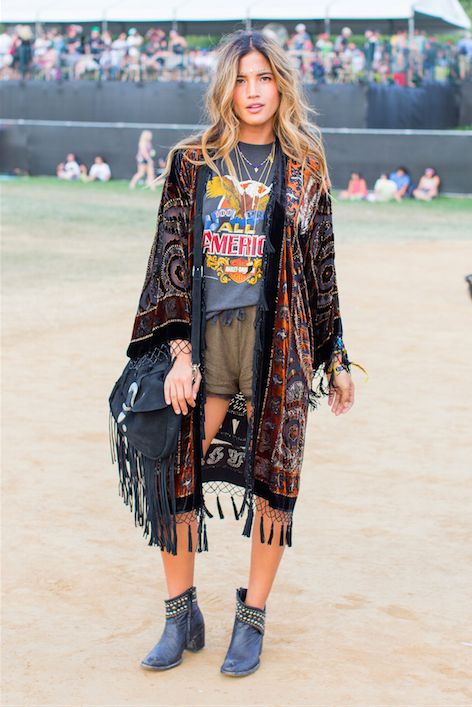 LOVING this street style look from Lollapalooza!