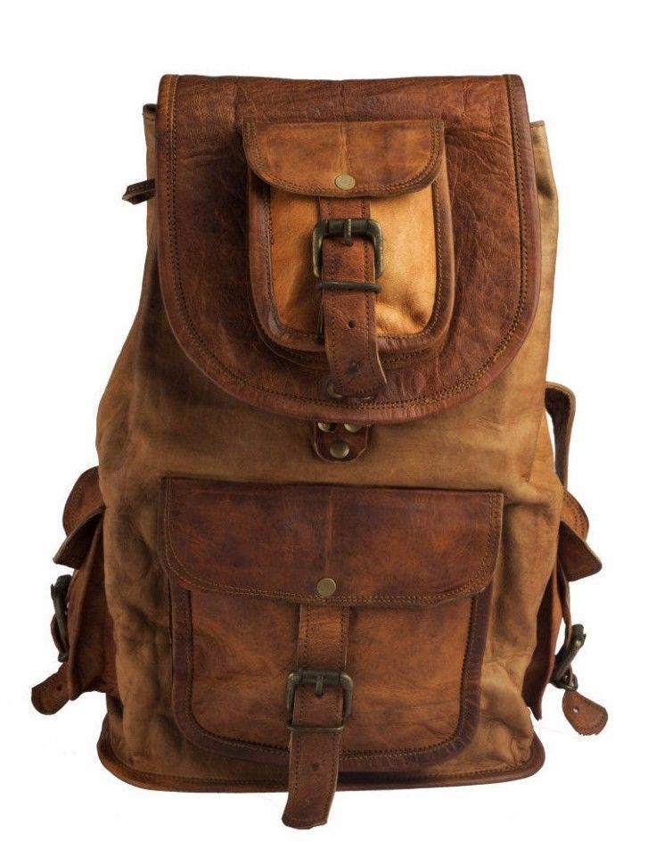 073fffbeb9 New Large Genuine Leather Back Pack Rucksack Travel Bag For Men s and  Women s  fashion  clothing  shoes  accessories  mensaccessories  bags (ebay  link)