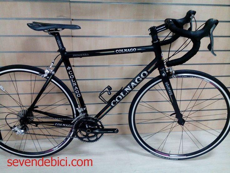 Bicicleta carretera Colnago Primavera ocasion Cuadro aluminio talla 54, grupo Shimano 105 10V, platos-bielas FSA 50-34, manillar Easton, potencia Ritchey, ruedas Alexrims nuevas