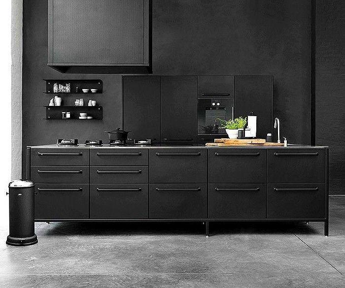 1001 Ideen Zum Thema Kuche Streichen Neuste Farbtendenzen Kuchen Streichen Moderne Kuche Kuche Schwarz