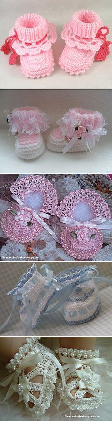 "Botines de ganchillo y de punto Más [ ""Booties Crochet and knitting"", ""Find and save knitting and crochet schemas, simple recipes, and other ideas collected with love."" ] #<br/> # #Booties #Crochet,<br/> # #Crochet #Baby,<br/> # #Crochet #Patterns,<br/> # #Baby #Shoes,<br/> # #Knitting,<br/> # #Baby #Things,<br/> # ..."