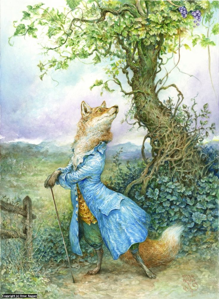 Infected By Art » Renard the Fox and the Grapes by Omar Rayyan » Infected By Art Book - Volume 3 Contest