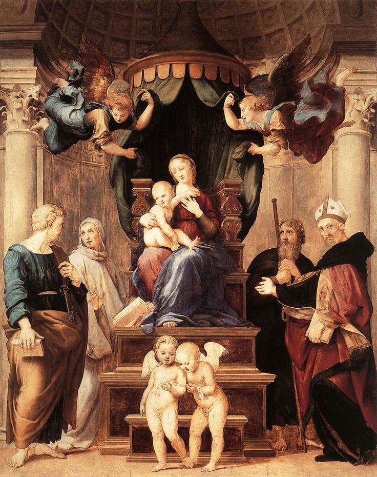 Masters Of Art Raphael Sanzio 1483 1520 MadonnaHigh RenaissanceItalian