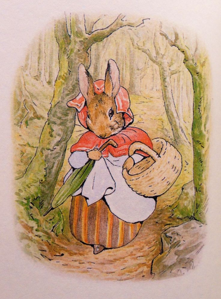 картинки беатрис поттер кролик мужчине день