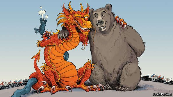 The crisis in Ukraine is drawing Russia closer to China. But the relationship is far from equal