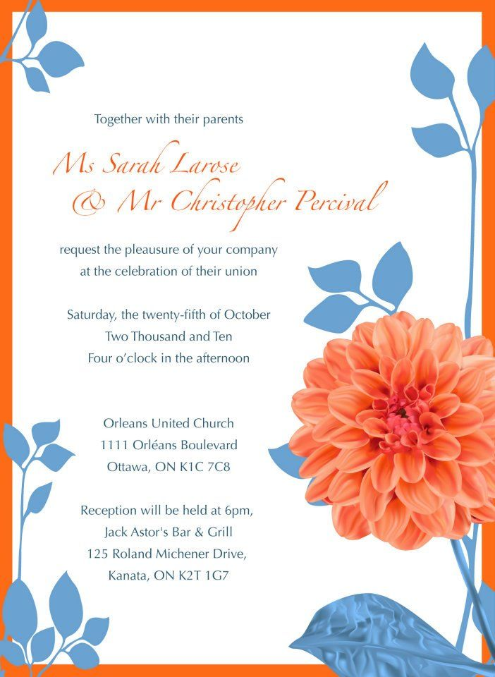 Wedding Stationary – Design / Illustration / Layout – for Chris and Sarah Percival.