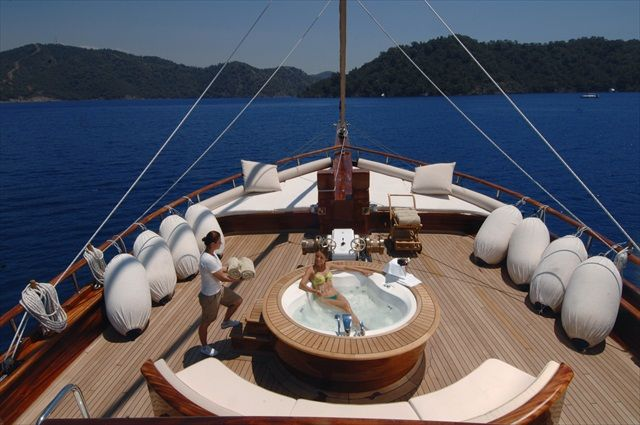Blue cruise yacht charter in Turkey on board Mare Nostrum gulet