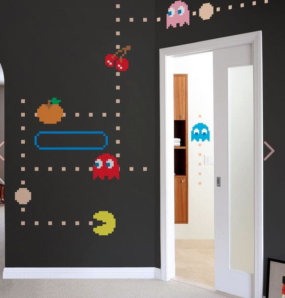 PacMan/Ms PacMan Wall Decals. Make Your Own Arcade Themed Room. | Home |  Pinterest | Wall Decals, Room And Walls Part 77