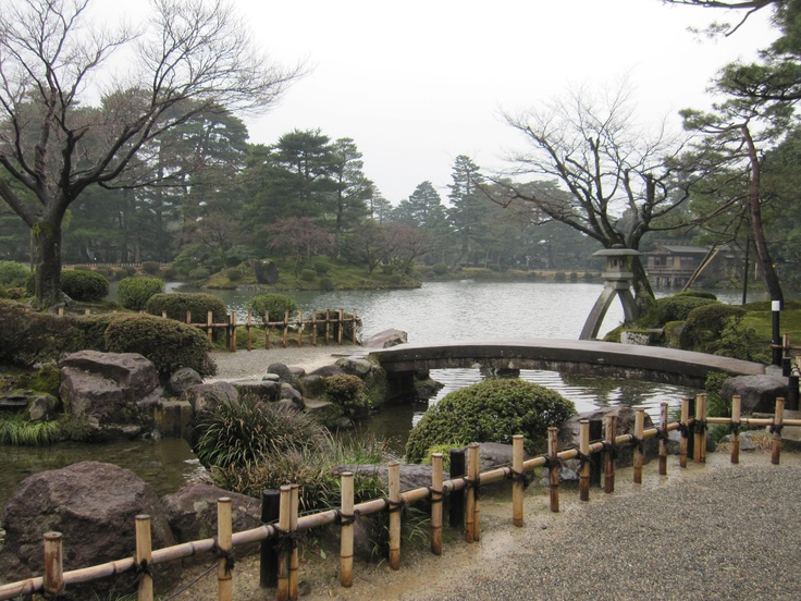 兼六園(Kennrokuenn)、金沢(Kanazawa)、one of the largest gardens in Japan