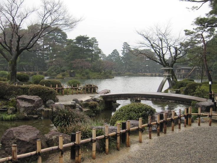 兼六園(Kennrokuenn)、金沢(Kanazawa)、one of the largest gardens in Japan