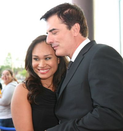 Chris Noth and Tara Lynn Wilson