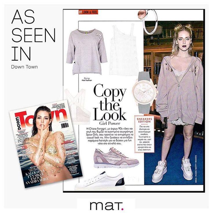 Το εβδομαδιαίο περιοδικό @downtownmaggr μας προτείνει να εμπνευστούμε από το look της @chiaraferragni και να υιοθετήσουμε το athletic-chic style με την #matfashion sweatshirt με σκισίματα! Μετά την πρόταση γάμου που της έκανε ο αγαπημένος της, Ιταλός τραγουδιστής, Fedez, στα γενέθλια της, εμφανίζεται πιο στιλάτη από ποτέ! 💍 Aνακάλυψε την ➲ code: 675.1254 #downtownmagazine #downtownmagazinegr #athleisure #style #inspiration #chiaraferragni #streetstyle #ootd