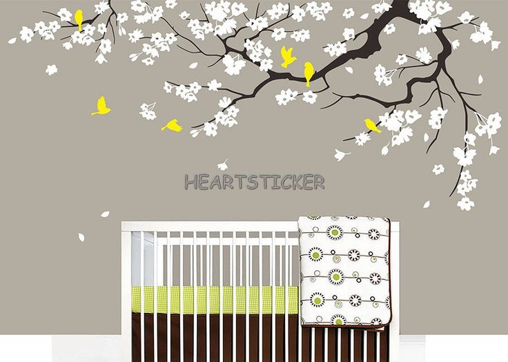 Cherry blossoms Wall sticker tree decal Decors Kidsroom wall art Fashion Background decoration by HEARTSTICKER on Etsy https://www.etsy.com/listing/257432276/cherry-blossoms-wall-sticker-tree-decal