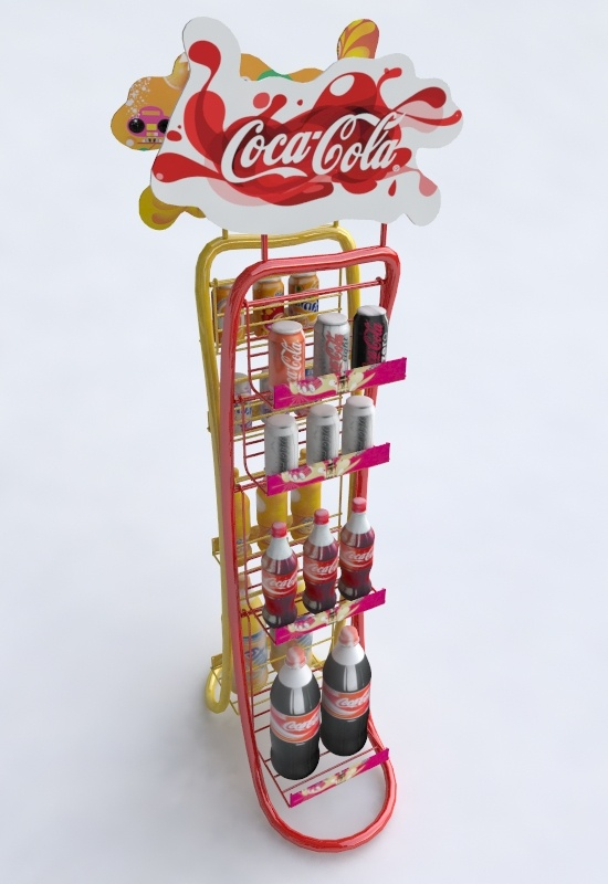 Point of Purchase Design | POP | POSM | POS | Coke Display
