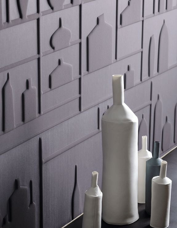 Elitis #Behang met 3D effect - #wallpaper in 3D