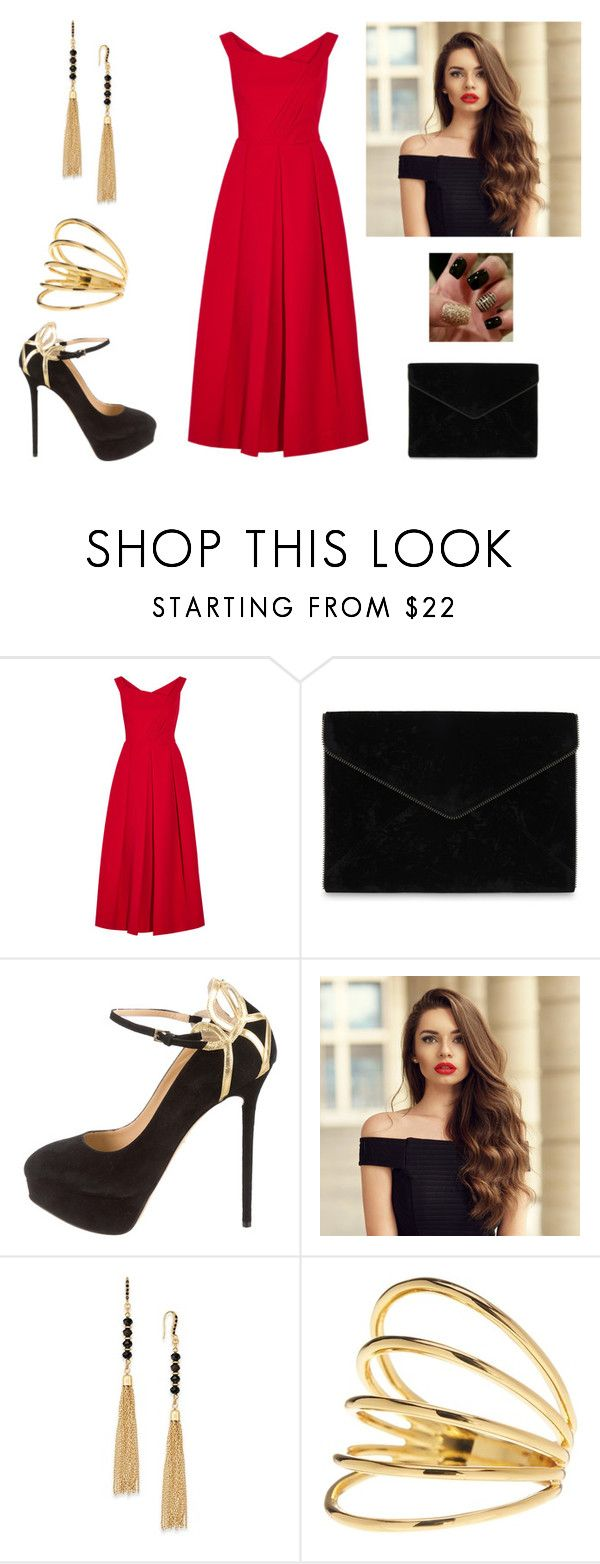"""""""Elegant"""" by paoladouka on Polyvore featuring Preen, Rebecca Minkoff, Charlotte Olympia, INC International Concepts and Gorjana"""