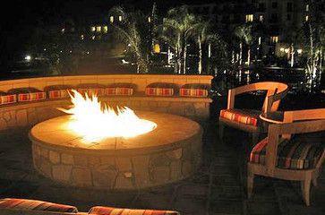 Outdoor gathering space while at BAMO, Inc. - contemporary - patio - los angeles - Doug Burch