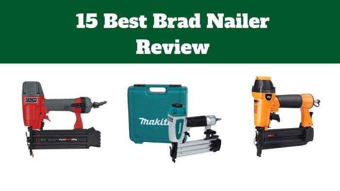 15 Best Brad Nailer For 2019 Tools Gears Finish Nailer Brad Nails Bump Fire