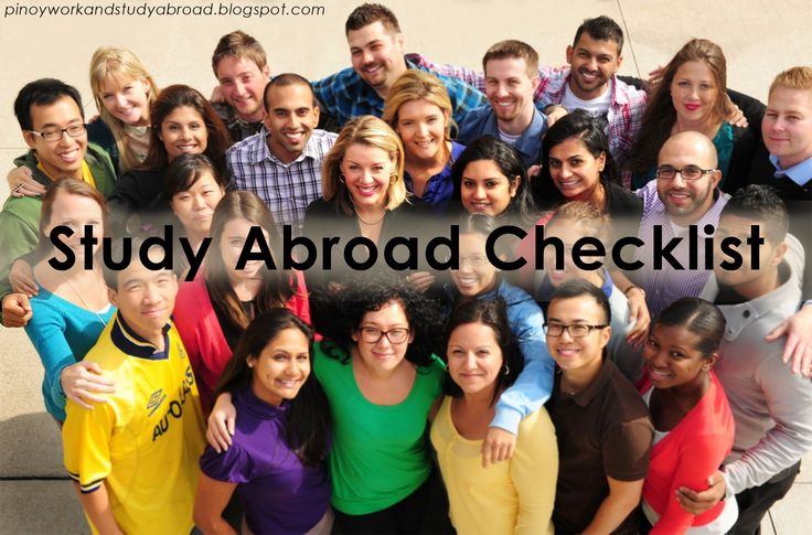What to Consider If You Want to Study Abroad? - Pinoy Work and Study Abroad