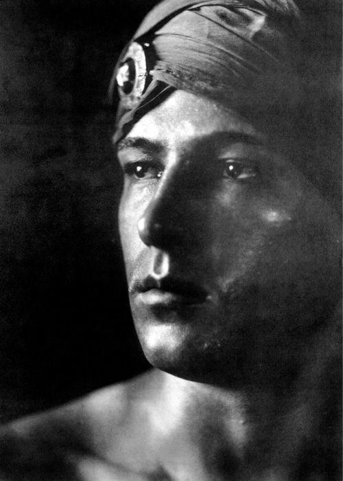 Rudolph Valentino- My grandpa was named after him...great grandma had good taste!!!