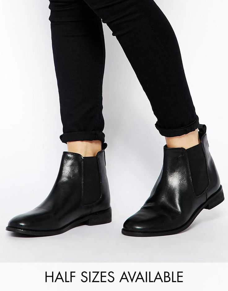 ASOS   ASOS AIRTIME Leather Chelsea Ankle Boots  NEED THIS STYLE BOOT