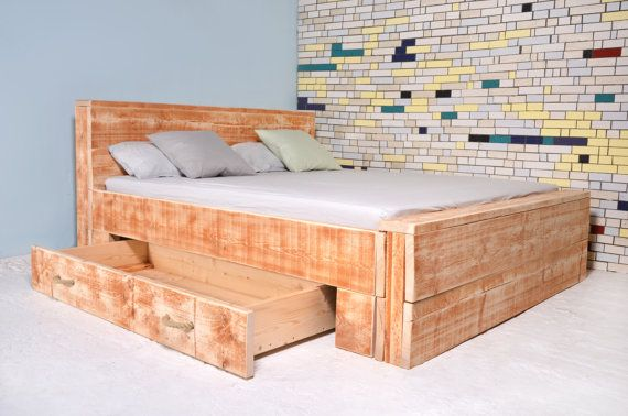 Hey, I found this really awesome Etsy listing at https://www.etsy.com/listing/251809436/bed-with-1-large-bed-box-salernes