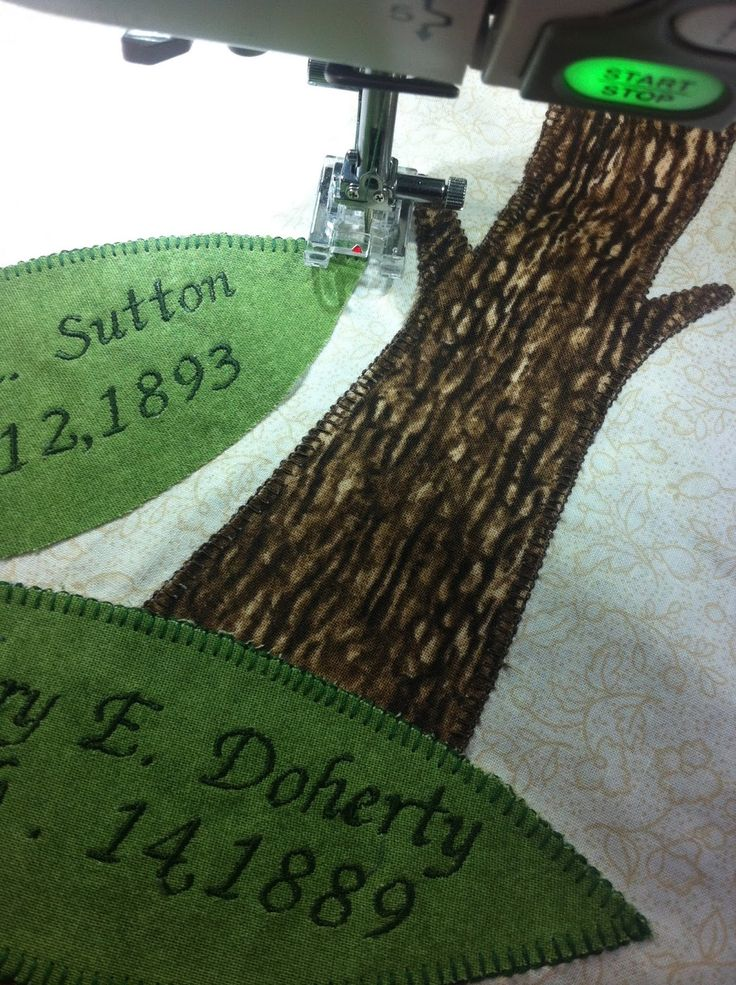 Magpie Quilts: Family Tree Quilt