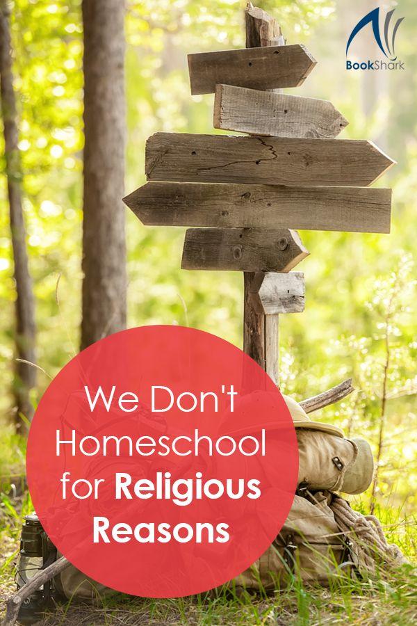 We Don't Homeschool for Religious Reasons • secular homeschooling