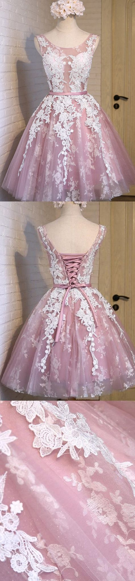 Prom Dresses 2017, Short Prom Dresses, 2017 Prom Dresses, Sexy Prom dresses, Prom Dresses Short, Sexy Homecoming Dresses, Short Homecoming Dresses, Prom Short Dresses, Homecoming Dresses 2017, Sleeveless Prom Dresses, Lilac Sleeveless Homecoming Dresses, 2017 Homecoming Dress Lilac Lace-up Sexy Short Prom Dress Party Dress