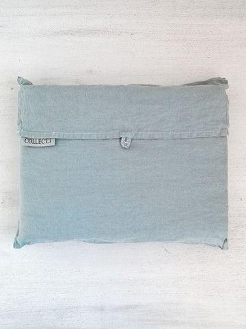 Dove S/W Linen Pillowcase Pair