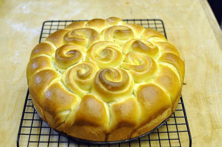 VivaLaFocaccia    La ricetta per fare il pane centrotavola artistico per le feste