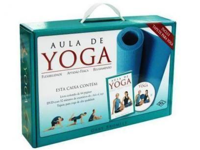 Maleta: Aula de Yoga - Col. Aprenda a Fazer - DCL com as melhores condições você encontra no Magazine Ciabella. Confira!