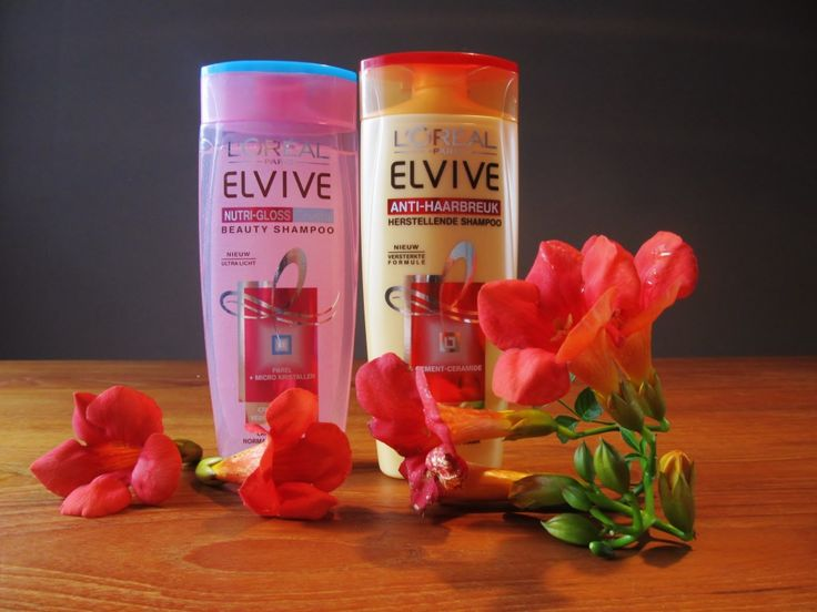 L`oreal Elvive Anti-haarbreuk en Nutrigloss Shampoo
